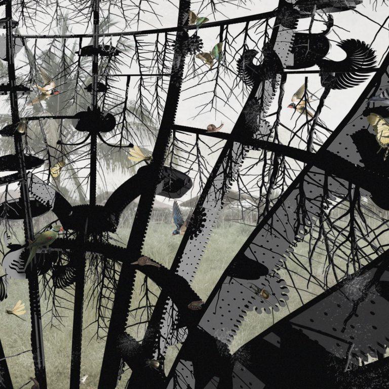 The Critters Black Den by Animali Domestici