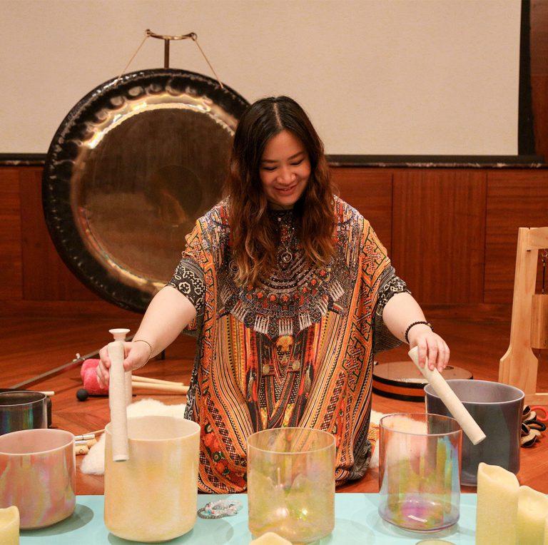 Alchemy Crystal Bowls Sound Bath by Jaan Healing