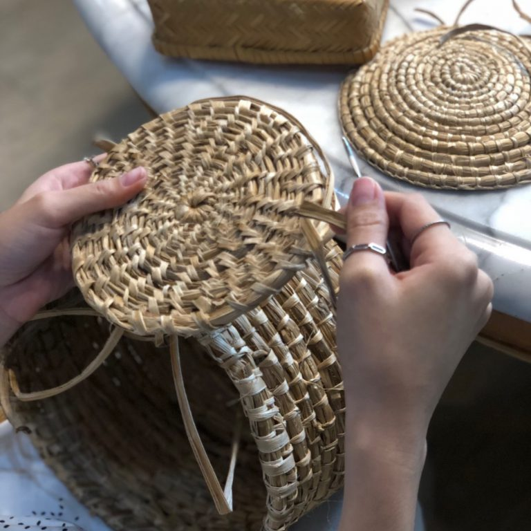 Bamboo Weaving workshop by Craft Creator