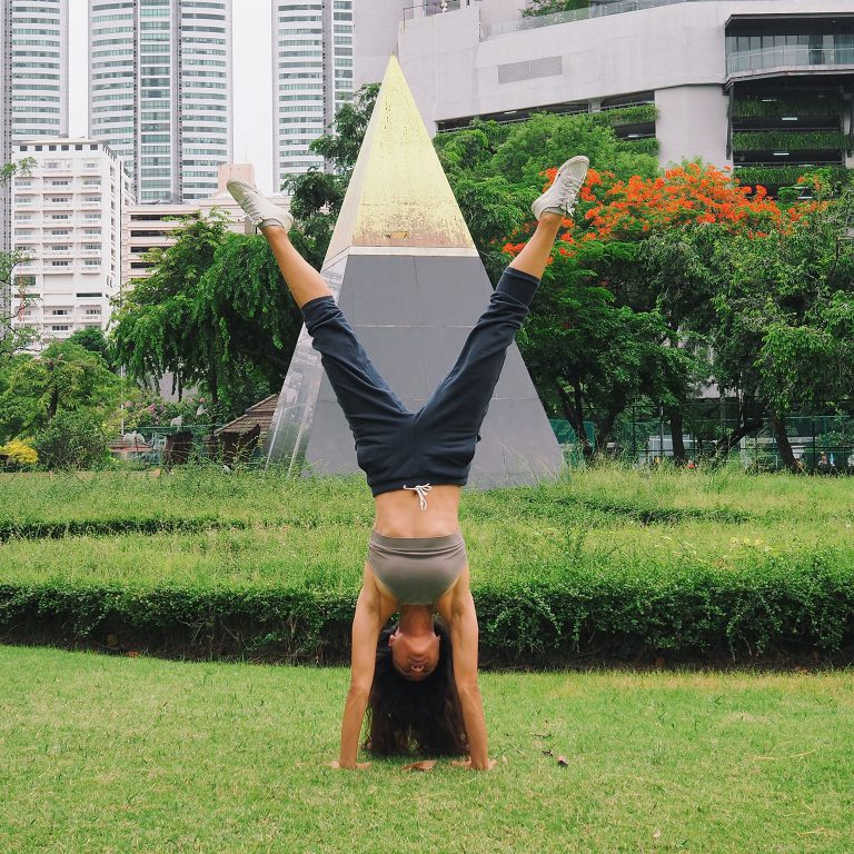 Right Side Up! Partner Inversion and Handstands by Acro Team Thailand