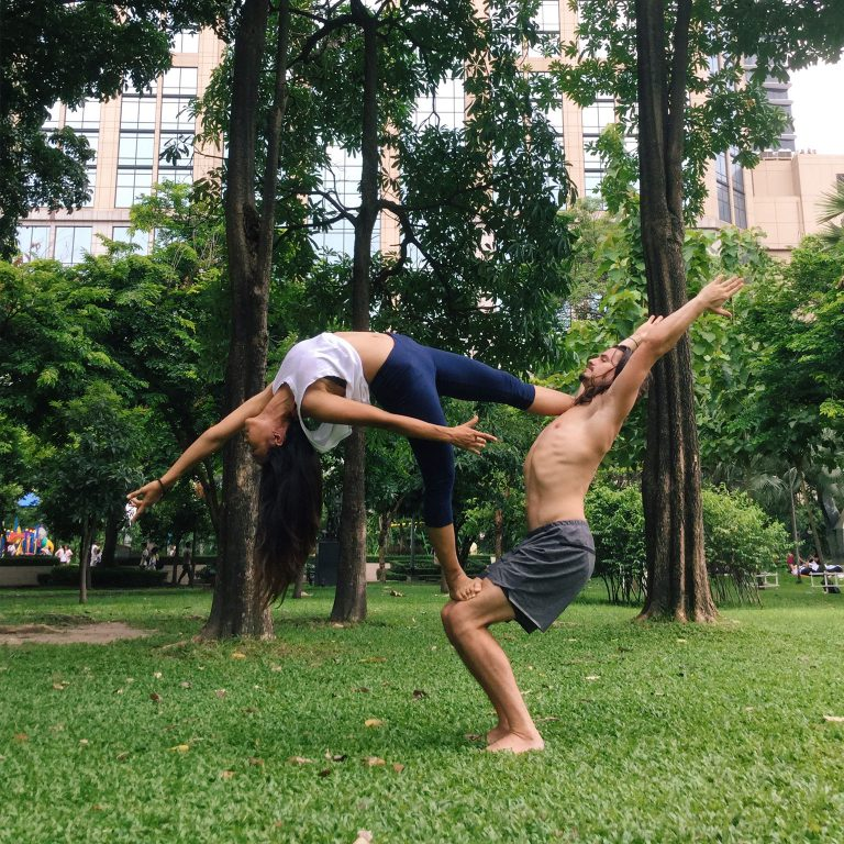 Acro Yoga Open Levels by Acro Camp Thailand