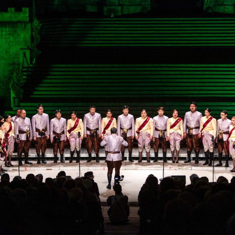 Roaming chorus by The Bangkok Voices