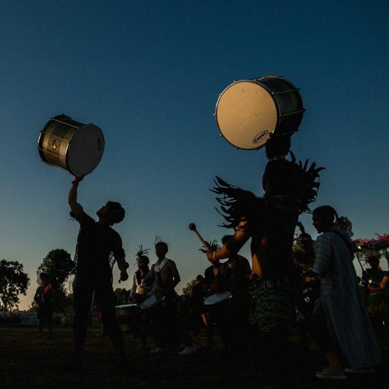 Tribal rhythms by Tiger Drum Thailand