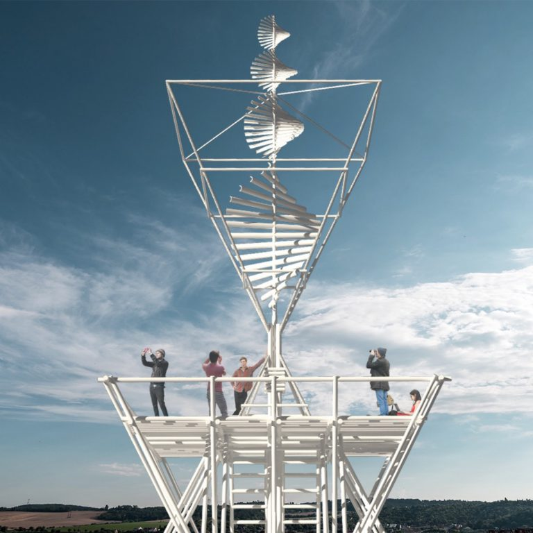 Wind Flower by PO-D Architects